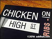 Chicken on High Street