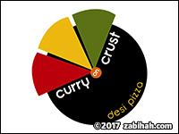 Curry on Crust Desi Pizza