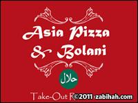Asia Halal Pizza & Bolani