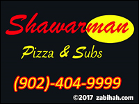 Shawarman Pizza & Subs