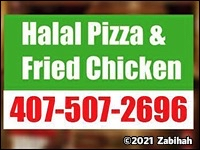 Halal Pizza & Fried Chicken