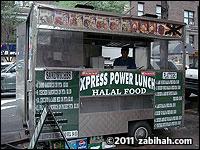 Express Power Lunch Halal Food Cart