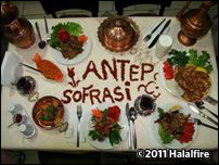 Antep Etoğlu Sofrasi