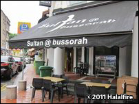 Sultan@Bussorah