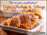 Halal Cajun Chicken & Wings