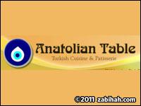 Anatolian Table