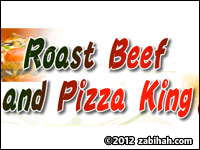 Roast Beef Pizza King