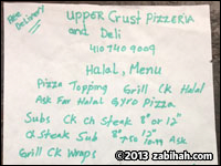 Upper Crust Pizzeria & Deli
