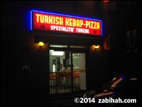 Turkish Kebap-Pizza