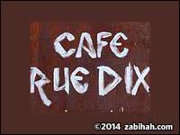 Café Rue Dix