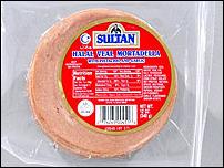 Sultan Veal Mortadella (Sliced)