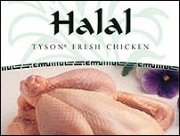 Tyson Fresh Halal Whole Chickens