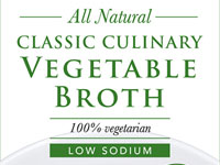 Classic Culinary Vegetable Broth