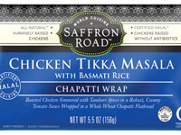Chicken Tikka Masala Chapatti Wrap