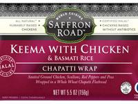Keema with Chicken Chapatti Wrap
