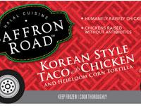Korean Taco with Chicken