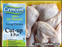 Crescent Whole Cut-Up Chicken