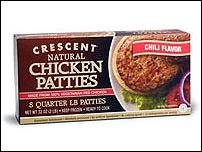 Crescent Chicken Chili Patties