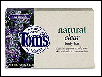Natural Clear Lavender Body Bar