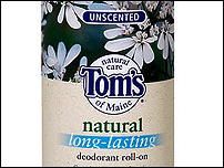 Unscented Deodorant Roll-On